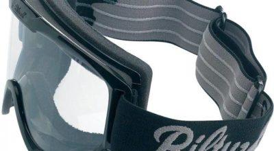 Biltwell Motorradbrille schwarz