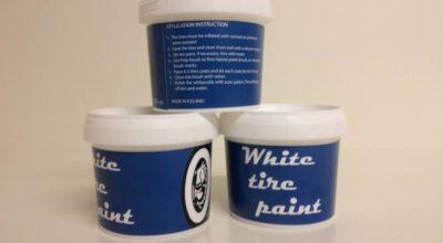 Weißwandreifen-Farbe